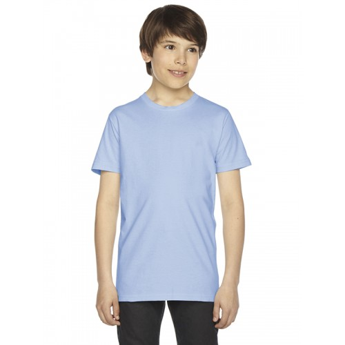 American Apparel 2201 Youth Fine Jersey Tee