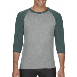 Anvil 6755 Triblend 3/4 Sleeve Raglan