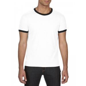 Anvil 988 Adult Lightweight Ringer Tee