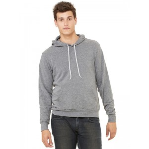 Bella 3719 Poly Cotton Pullover Hoodie