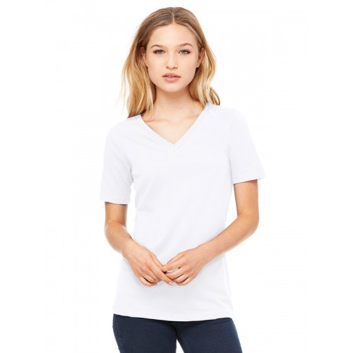 Bella 6405 Womens Relaxed Fit V-Neck