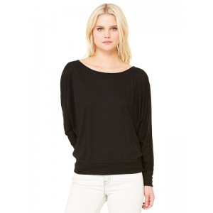 Bella 8850 Off-Shoulder Long Sleeve Tee
