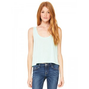 Bella 8880 Womens Cropped Boxy Tank