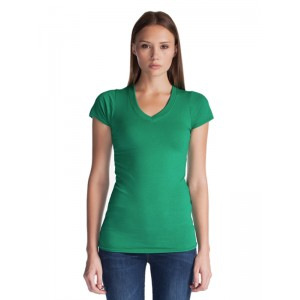 Jerico 65 Bamboo Ladies V-Neck Tee