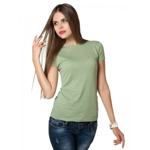 M&O Knits 3540 Ladies Blend Tee
