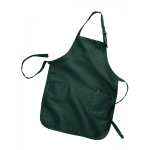 Q-TEES 4350 Full Length 2 Pocket Apron