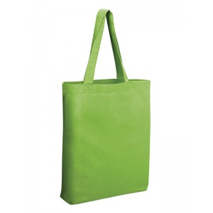 Q-TEES QTBG Cotton Gusseted Tote